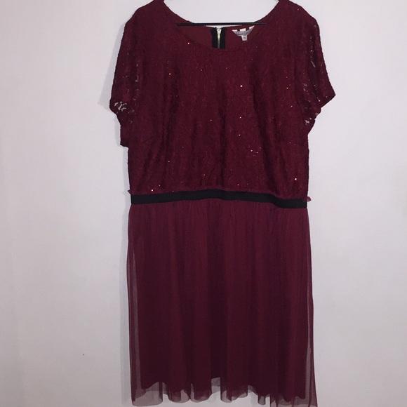 Jcpenney Dresses Sequin Lace Semi Formal Dress Poshmark